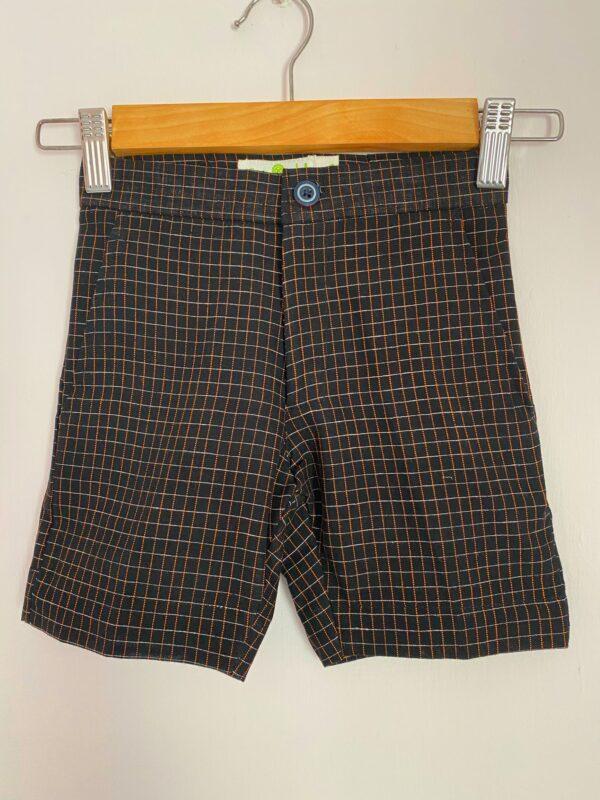 Boys Brown shorts in Khadi