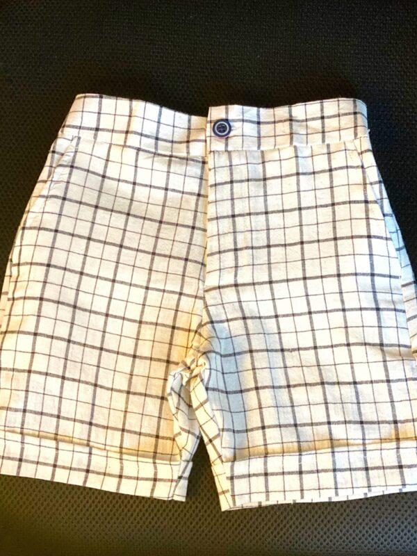 BnW (Cotton Checked shorts)