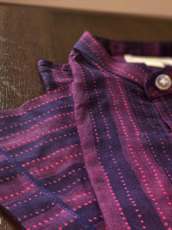Purple shirt for boys