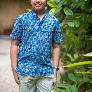 Blue A Maze shirt